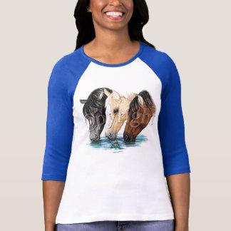 Wasser-Pferde T-Shirt
