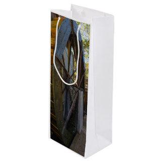Wasser-Rad Dawt Mühle Geschenktüte Für Weinflaschen