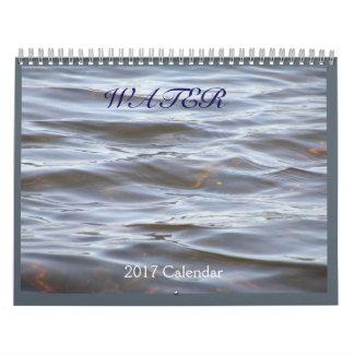 Wasser, zwei Seiten-Kalender, Medium Abreißkalender