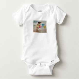 Wasserball Baby Strampler