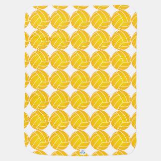 Wasserball-Ball-Decke - Gelb Kinderwagendecke