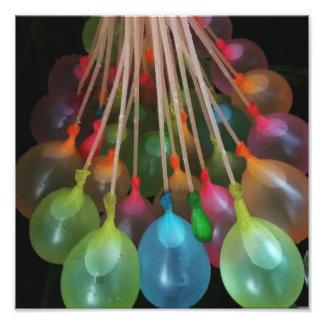 Wasserballone Fotodruck