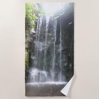 Wasserfall-Badetuch Strandtuch