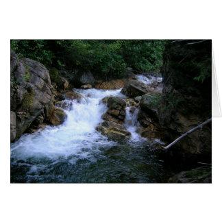 Wasserfälle notecard karte