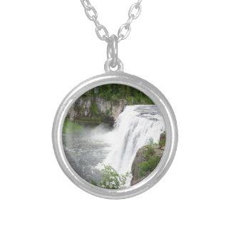 Wasserfälle Versilberte Kette