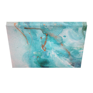 Wasserfarbe abstrakt leinwanddruck