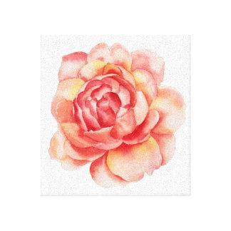 Wasserfarbe-Blumen-Leinwand Leinwanddruck