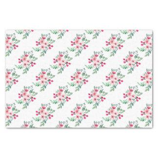 Wasserfarbe-Blumen Seidenpapier
