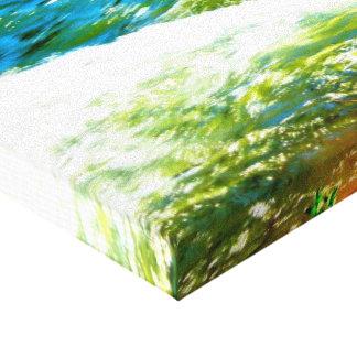 Wasserfarbe Leinwanddruck