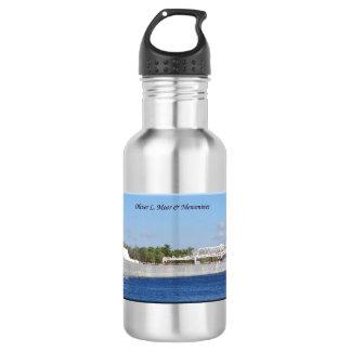 Wasserflasche Oliver L. Moore u. des Menominee