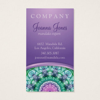 WasserlilieMandala Visitenkarte