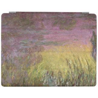 Wasserlilien Claudes Monet   am Sonnenuntergang iPad Hülle