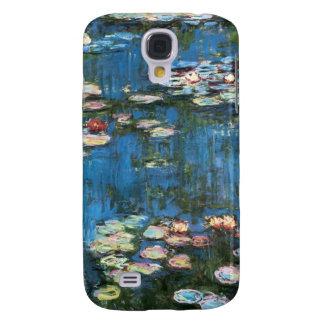 Wasserlilien durch Claude Monet, Vintager Galaxy S4 Hülle