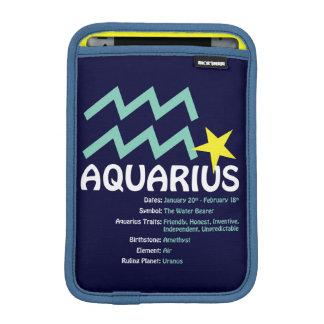 Wassermann-Merkmal-Fall Sleeve Für iPad Mini