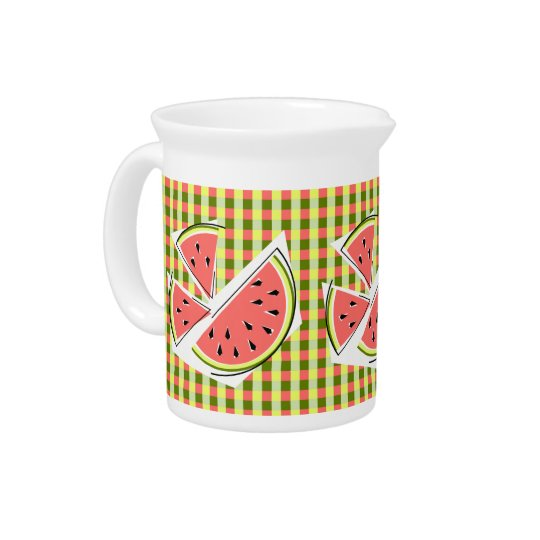 Wassermelone bessert Karokrug aus Getränke Pitcher