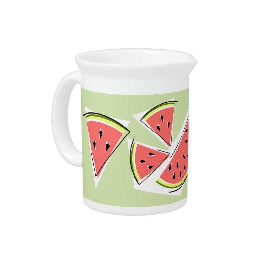 Wassermelone-Grenzekrug Getränke Pitcher