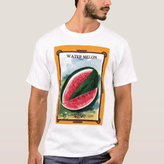 Wassermelone-grundlegender T - Shirt