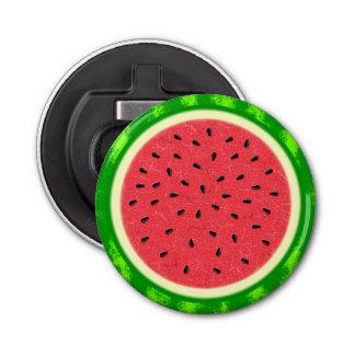 Wassermelone-Scheibe-Sommer-Frucht mit Rinde Flaschenöffner