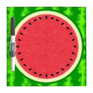Wassermelone-Scheibe-Sommer-Frucht mit Rinde Memoboard