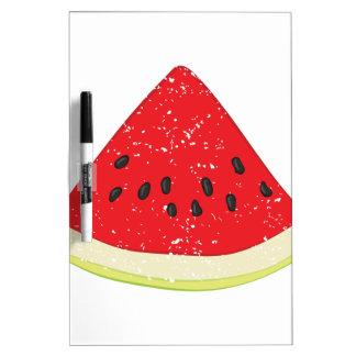 Wassermelone-Scheibe Trockenlöschtafel