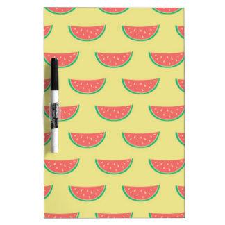 Wassermelone-Sommerzeitmuster Memoboard