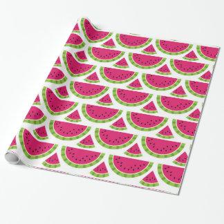 Wassermelonefarbe Geschenkpapier