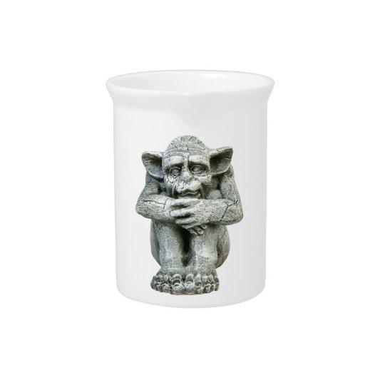 Wasserspeier-Porzellan-Krug Krüge