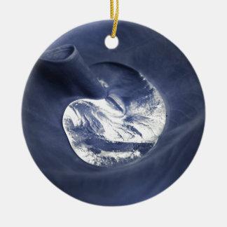 Wassertropfen Keramik Ornament