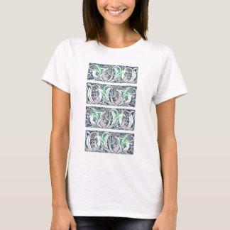 Wasserzeichen bewegt Shirt wellenartig (Entwurf