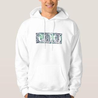 Wasserzeichen-Shirt (Entwurf auf beiden Seiten) Hoodie