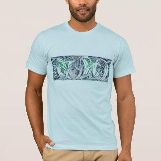 Wasserzeichen-Shirt (Entwurf auf einer Seite) T-Shirt
