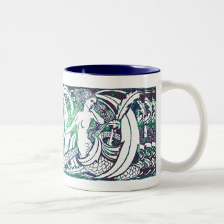 Wasserzeichen-Tasse Zweifarbige Tasse