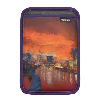 Watercolor-Abend iPad Mini Sleeve