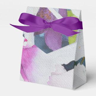Watercolor-BlumenGeschenkboxen Geschenkschachtel