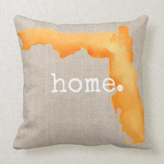 Watercolor-Florida-Zuhause| Throw-Kissen Kissen