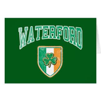 WATERFORD Irland Grußkarte