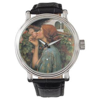 Waterhouse: Geruch der Rosen Uhr