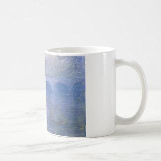 Waterloo-Brücke im Nebel durch Claude Monet Kaffeetasse