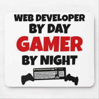 Web-Entwickler durch TagesGamer bis zum Nacht Mauspads