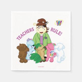 Webkinz: Lehrer-Regel! Papierservietten
