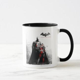 Wechselstrom-Plakat - Batman u. Harley Tasse