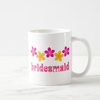 Wedding Brautjungfern-hawaiische tropische Blumen Tasse