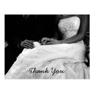 Wedding danken Ihnen Karten Postkarte