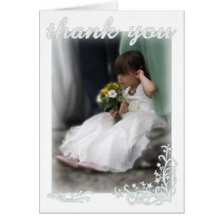 Wedding Dankes- Grußkarte