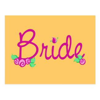Wedding Liebe-Knospen Postkarte