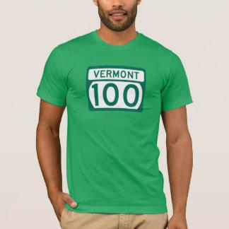 Weg 100, Vermont, USA T-Shirt