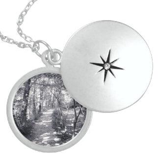 Weg des Glaubens Sterling Silberkette