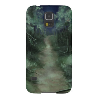Weg durch das Holz Samsung Galaxy S5 Hülle