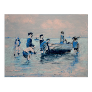 Weg von neuem Brighton-Ufer - 1891 Postkarte