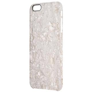 Weg von weißem feinem Spitze-Beschaffenheit Durchsichtige iPhone 6 Plus Hülle